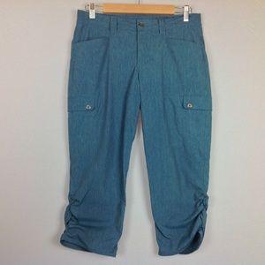 Eddie Bauer Capri Pants Womens 8 Stretch Cargo